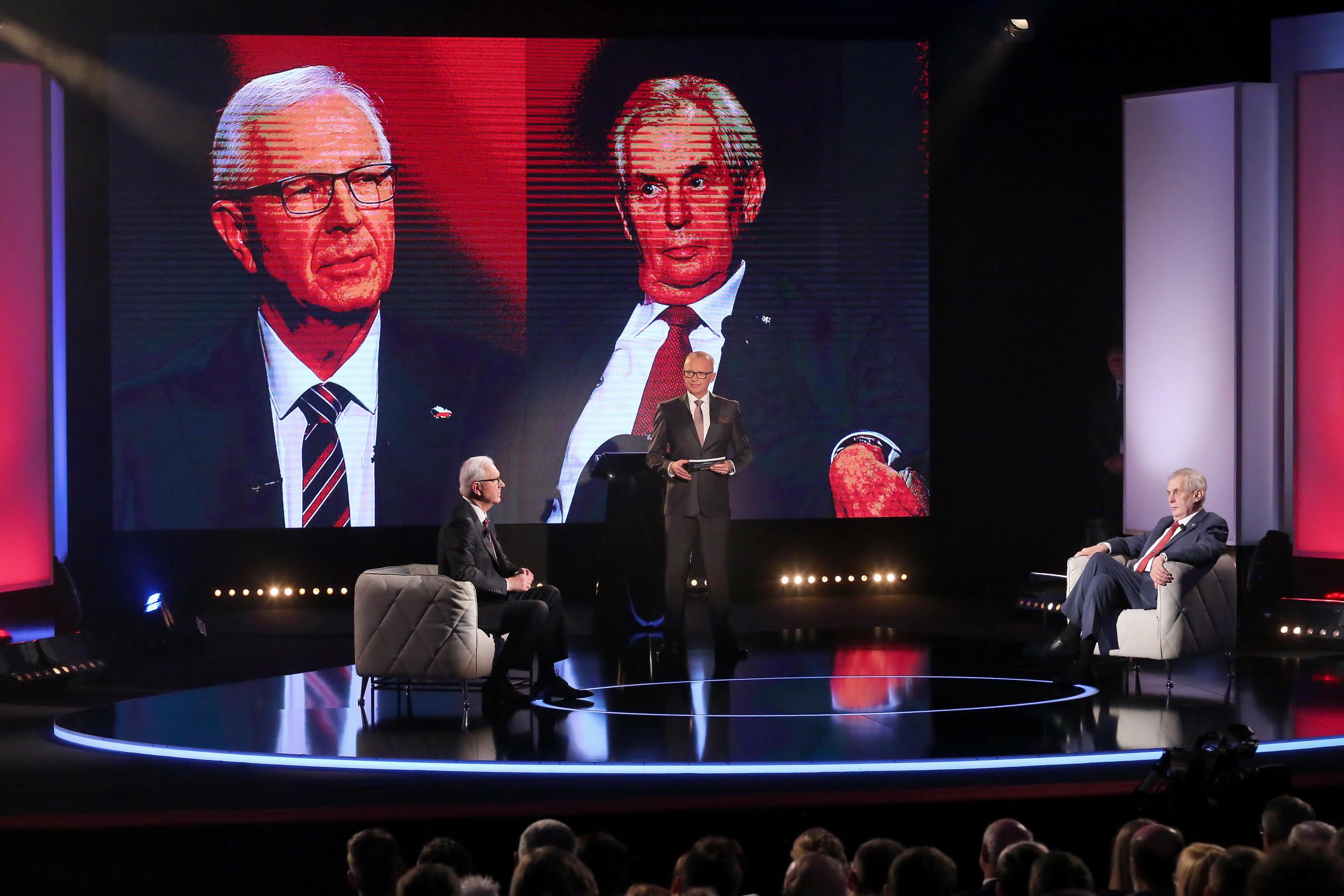 Česko hledá prezidenta - prezidentský duel na Primě