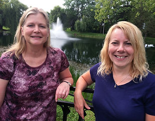 Alphabet Express Staff (pictured left-to-right): Dawn Rieckmann, Owner & 4K Teacher and Leah Fisher, AssistantTeacher
