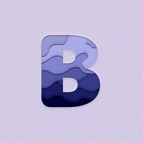B-Paper Cut Design