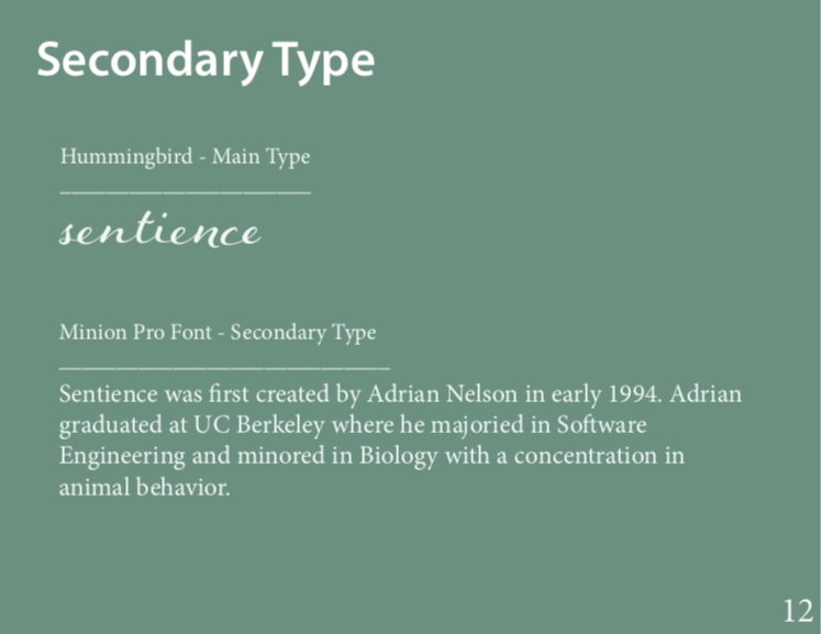 Secondary Type