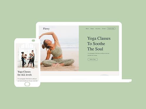 Flowy Yoga Website