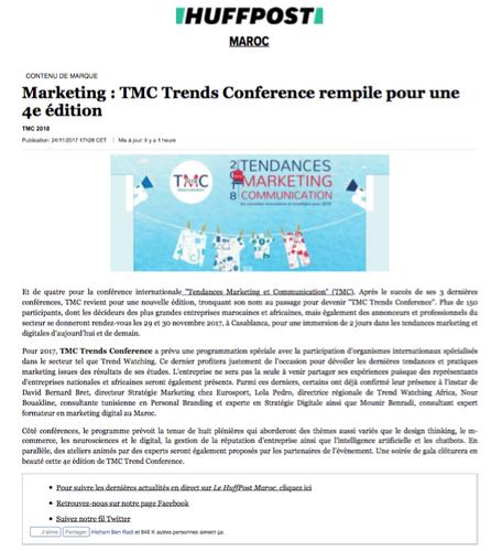 Article HUFFPOST MAGHREB - Mounir BENRADI - Consultant Expert en Marketing Digital.png