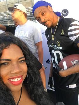 Snoop Dogg and Nikki Rich Athletes Vs Ca