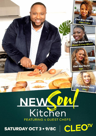 CLEO TV TURNS UP THE HEAT THIS FALL WITH SEASON TWO OF NEW SOUL KITCHEN PREMIERING BACK-TO-BACK ON S