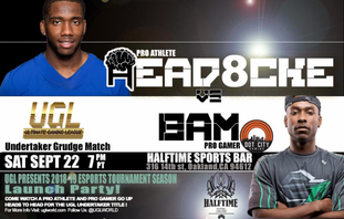 """OAKLAND'S ULTIMATE GAMING LEAGUE KICKS OFF A NEW SEASON WITH A """"PRO ATHLETE VS. PRO-GAMER"""" UNDERTAKE"""