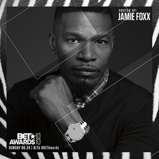 Jamie Fox is hosting The 2018BET Awards 06.24
