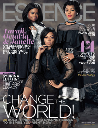 Taraji P. Henson, Octavia Spencer and Janelle Monáe Radiate on Essence's February 2017 Cover