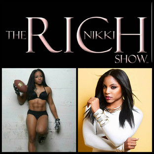 """Santia Deck """"The Queen of Abs"""" live on The Nikki Rich Show"""