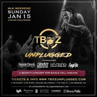 Tboz Unplugged