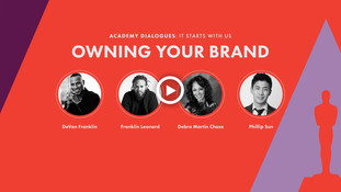 """""""ACADEMY DIALOGUES"""" FOCUSES ON IMPORTANCE OF  """"OWNING YOUR BRAND"""" IN HOLLYWOOD With DeVon Franklin,"""