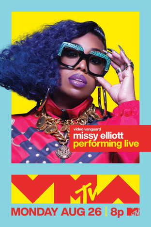 Missy Elliott to receive VMAs' highest honor and perform at the global awards show Monday, August 26