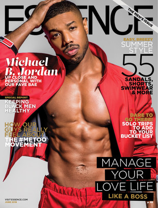 Micheal B.Jordan Covers June Issue Of Essence