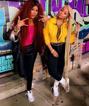 BlacChyna, LyricaAnderson, WalterMosley, Trina, AngelBrinks and Junes Diary  all at VH1 Hip Hop Hono