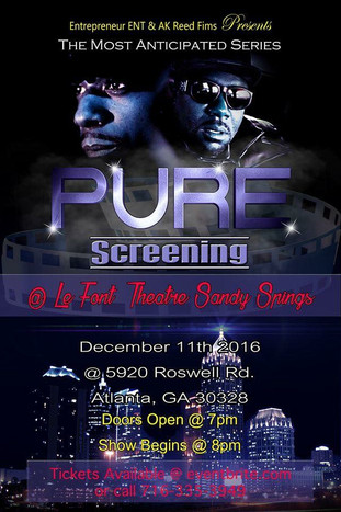 PURE THE SERIES ATLANTA PREMIERE TONIGHT