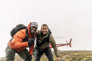 Terry Crews on Last Night's RUNNING WILD WITH BEAR GRYLLS