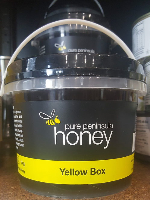 Peninsula Honey Yellow Box 1kg