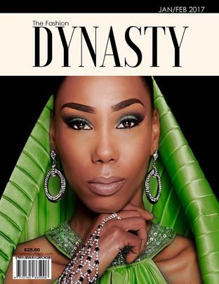 Super Model Nakeysha King Covers The Fashion Dynasty Global Fashion/Lifestyle Magazine