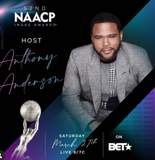 Anthony Anderson Returns As Host of 52nd NAACP Image Awards