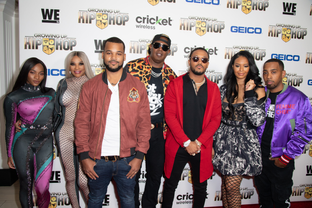 """WETV HOSTS A PRIVATE SCREENINGFOR THE PREMIERE OF NEW SEASON OF """"GROWING UP HIP-HOP"""" AT THE LONDON H"""