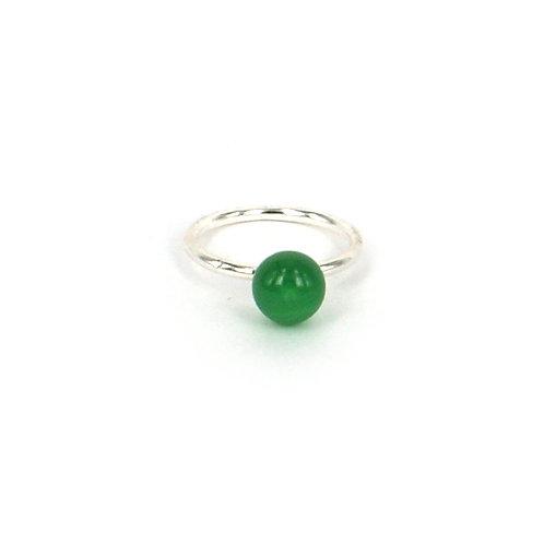 Green agat