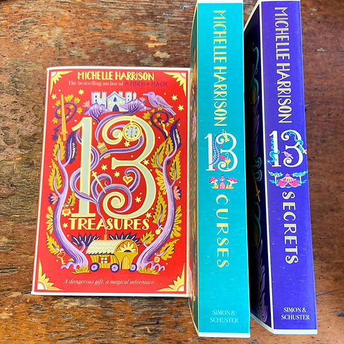 The Thirteen Treasures Trilogy | Michelle Harrison