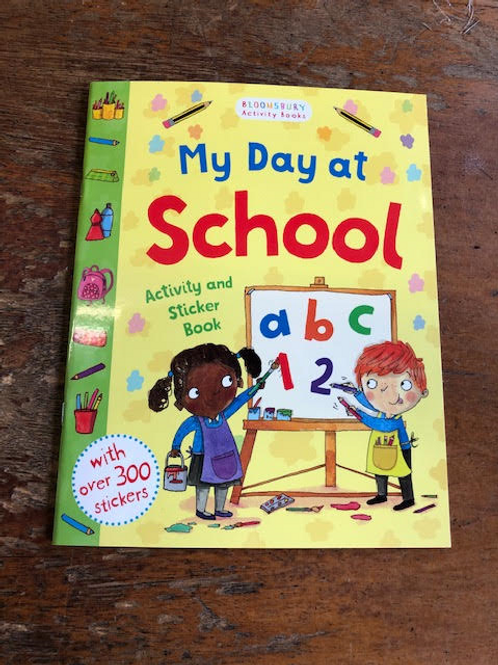 My Day at School Sticker and Activity Book