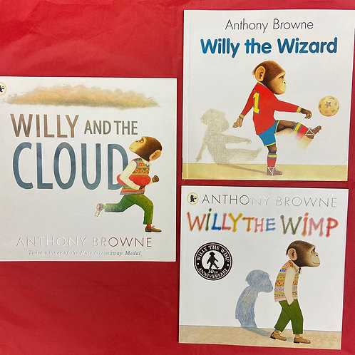 Willy Series | Anthony Browne