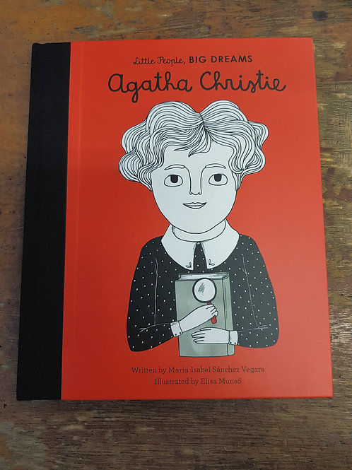 Agatha Christie [Little People Big Dreams] |  Maria Isabel Sanchez Vegara
