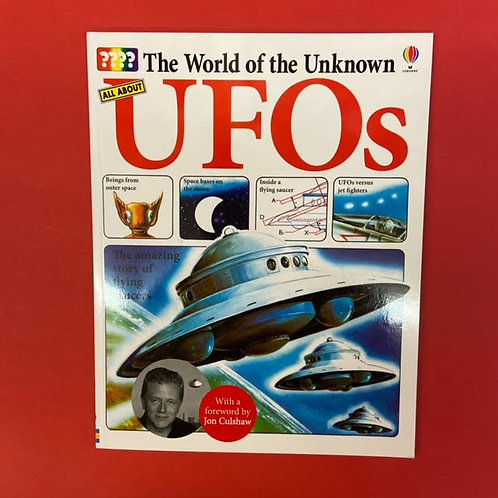 The World of the Unknown: UFOs | Ted Wilding-White and foreword by Jon Culshaw