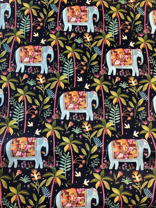 Indian Elephants Gift Wrap