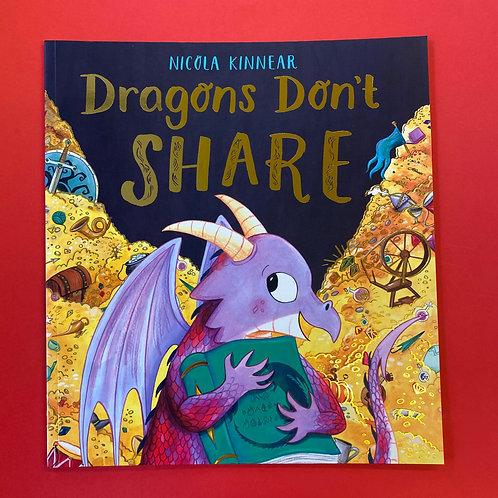 Dragon's Don't Share | Nicola Kinnear