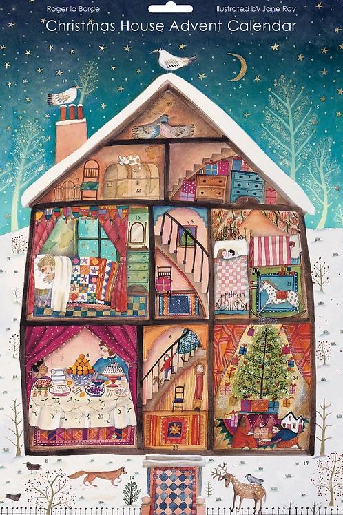 Jane's Rays Christmas House Advent Calendar
