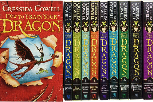 How To Train Your Dragons (Series) | Cressida Cowell