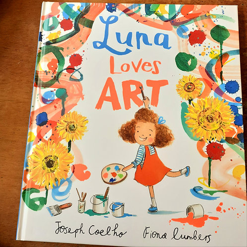 Luna Loves Art | Joseph Coelho and Fiona Lumbers