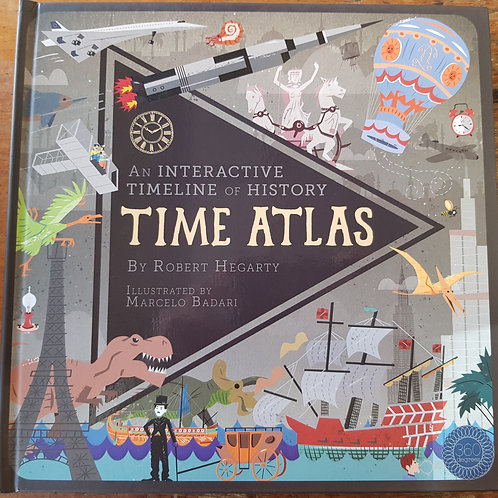 Time Atlas: An Interactive Timeline Of History |  Robert Hegarty