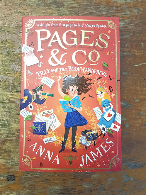 Pages & Co: Tilly and the Bookwanderers | Anna James