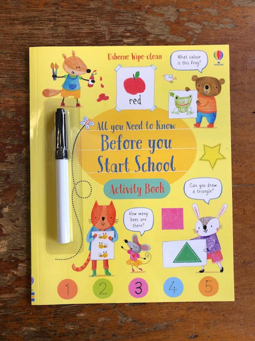 All You Need To Know Before You Start School Activity Book