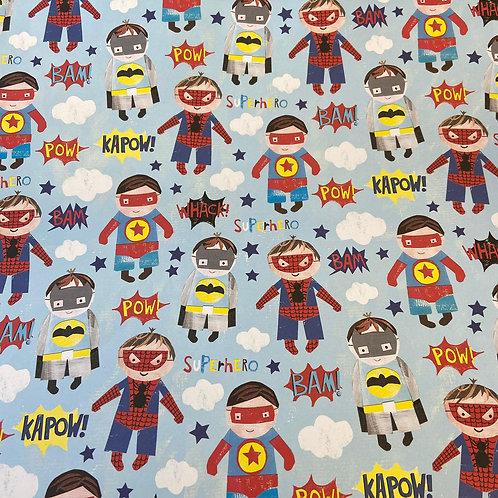 Superhero Gift Wrap
