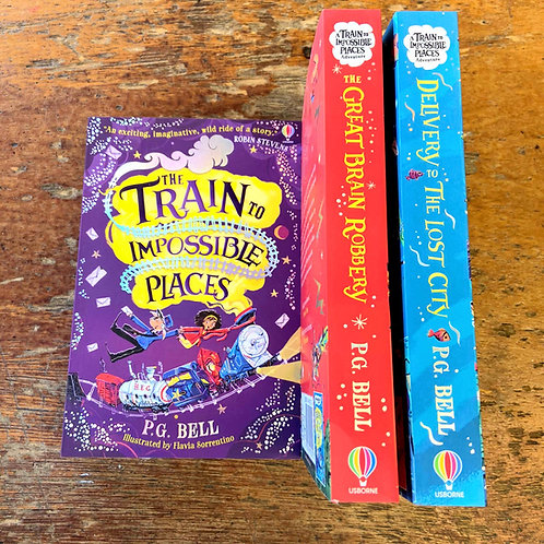 The Train to Impossible Places Series   P.G. Bell