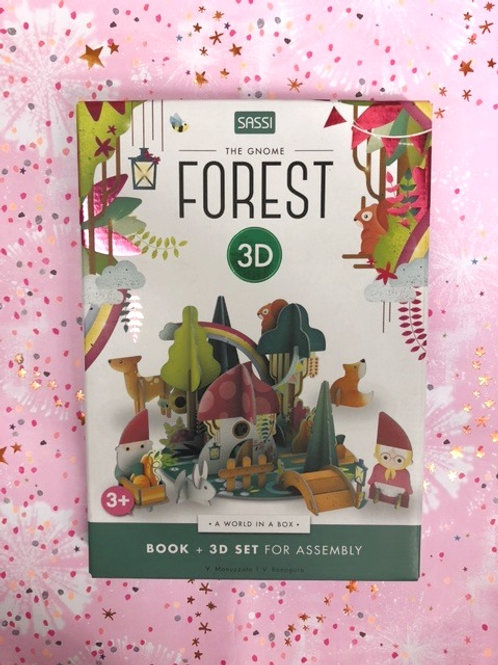 The Gnome Forest 3D Puzzle Game