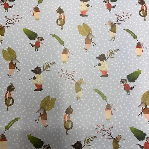 Single Sheet Christmas Gift Wrap