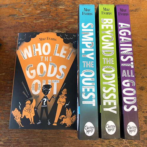 Who Let the Gods Out | Maz Evans