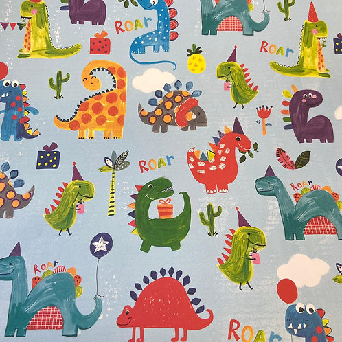 Younger Dinosaurs Gift Wrap