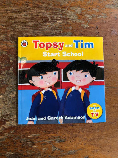 Topsy and Tim Start School | Jean and Gareth Adamson