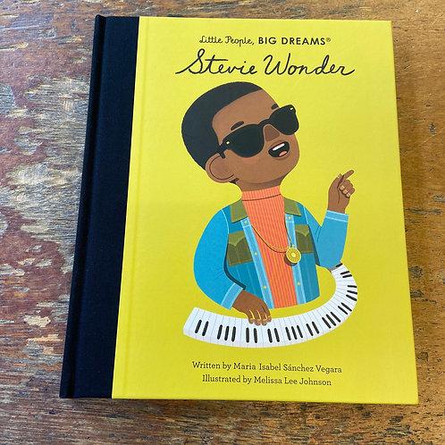 Stevie Wonder [Little People Big Dreams]   Maria Isabel Sanchez Vegara
