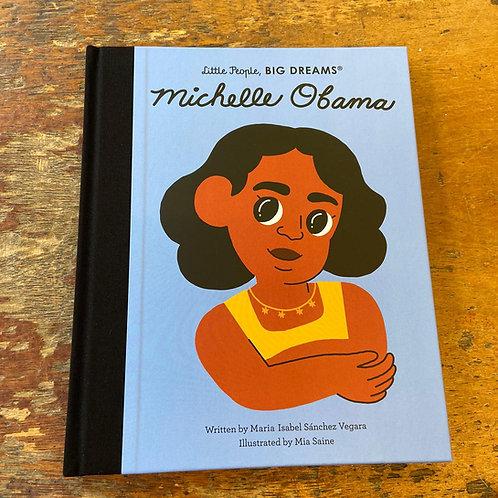Michelle Obama [Little People Big Dreams]   Maria Isabel Sanchez Vegara