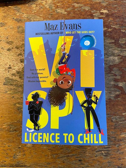 Vi Spy: Licence to Chill | Maz Evans