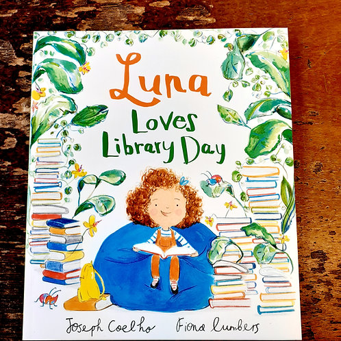 Luna Loves Library Day | Joseph Coehlo