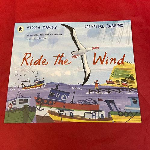 Ride The Wind | Nicola Davies and Salvatore Rubbino