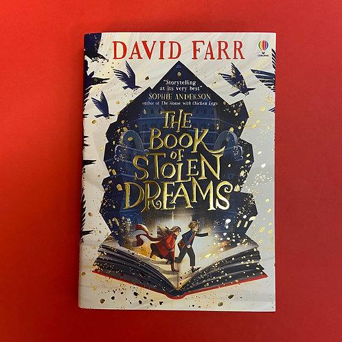 The Book of Stolen Dreams   David Farr